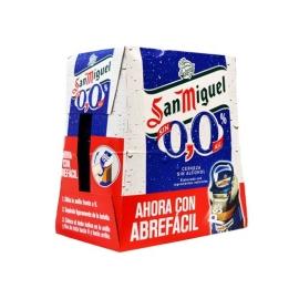 CERVEZA SIN ALCOHOL SAN MIGUEL PACK 6 25 CL
