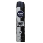 DESODORANTE NIVEA BLACK WHITE 200 ML  SPRAY
