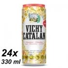 AGUA CON GAS VICHY LATA 33 CL