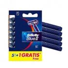 MAQUINILLA GILLETTE BLUE II 5   1 UND