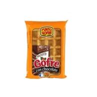 GOFRES CON CHOCOLATE PUNTO GOFRE