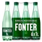 AGUA CON GAS FONTER 1 L