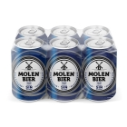 CERVEZA SIN ALCOHOL MOLEN 33 CL  PACK 6