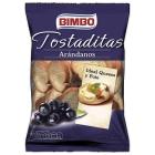 TOSTADITAS CON ARANDANOS BIMBO 100 GR