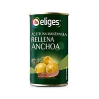 ACEITUNAS RELLENAS DE ANCHOA  IFA ELIGES 350 GR