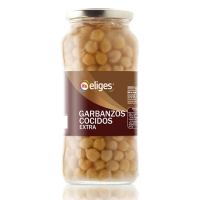 GARBANZO COCIDO IFA ELIGES 570 GR