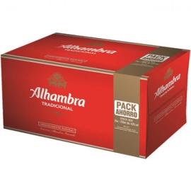CERVEZA ALHAMBRA 25 CL PACK 24 BOTELLINES