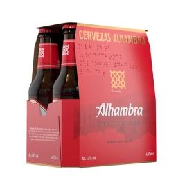 CERVEZA ALHAMBRA 25 CL PACK 6 BOTELLINES